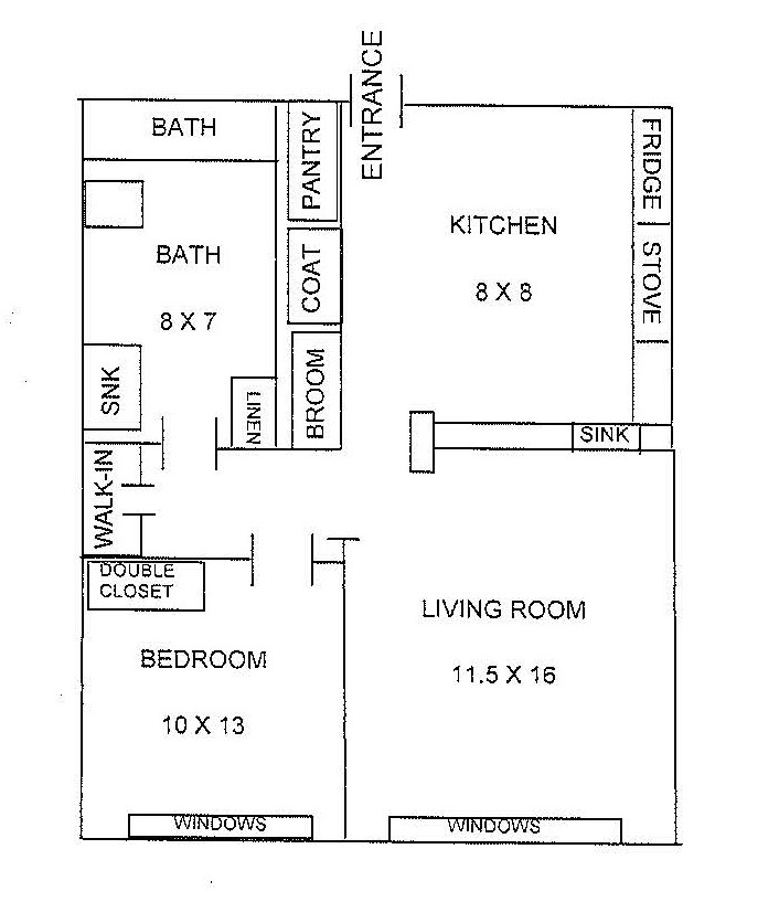 Beachpark Floorplan